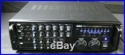 USED GOOD EMB pro 700-watt digital karaoke mixer stereo amplifier ebk37