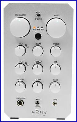 VOCOPRO CASAMAN 200w Digital Karaoke Mixer Amplifier Receiver with USB/Reverb/Echo