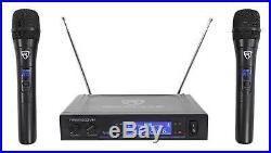 VOCOPRO CASAMAN 200w Digital Karaoke Powered Receiver Mixer+Dual Wireless Mics