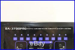 VOCOPRO DA-3700PRO 240W Digital Karaoke Mixing Amplifier With Key Control