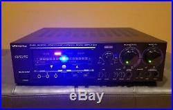 VOCOPRO DA-9800 RV 600W Karaoke Professional Mixing Amplifier