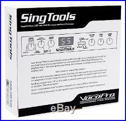 VOCOPRO SINGTOOLS DSP Vocal Effects Karaoke Mixer with Voice Pitch Correction