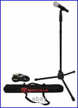 VOCOPRO SINGTOOLS DSP Vocal Effects Karaoke Mixer withPitch Correct+2 Mics+Stands
