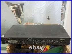 Videoke Hs-668 Karaoke Amplifier Digital Echo &sony Dynamic Microphone F-v55
