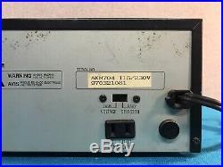 Vintage Audio 2000's AKM704 Karaoke Mixer Tested & Working