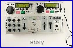 Vintage Numark Kmx01 Dual CD Player Mixer with Karaoke Capabilities