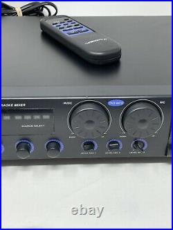 VoCoPro DA350K Digital Key Control Karaoke Mixer Machine With Remote