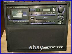 VocoPro Bravo AUX CD DVD Cassette Player Karaoke Professional System