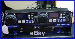 VocoPro CDG-8900-PRO DIGITAL CD/CD+G DUAL TRAY DJ KARAOKE PLAYER & PITCH CONTROL