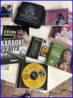 VocoPro COLT All-In-One Karaoke Machine with Discs & Mics In Box Barley Used