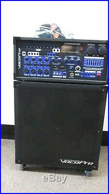 VocoPro Champion-RV 200W 4 Channel Multi-Format Karaoke P. A. System with Reverb