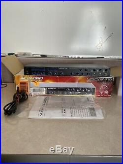 VocoPro DA-1000 PRO 3-Channel Karaoke Mixer Professional 3 Mic Digital