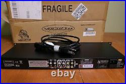 VocoPro DA-1000 Pro 3-Microphone Karaoke Rack Audio Mixer with Power Cord Open-Box