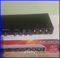 VocoPro DA-1000 Pro Three-Microphone Karaoke Rack Audio Mixer with Power Cord