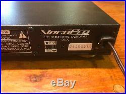 VocoPro DA-1050PRO Professional Digital Echo Mixer Parametric EQ Karaoke