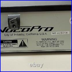 VocoPro DA-2050K Digital Karaoke Mixer w Key Control and Echo