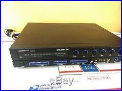 VocoPro DA-2050K Digital Karaoke Mixer w Key Control and Echo Stereo Equipment