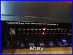 VocoPro DA-2808VE Digital Karaoke Mixer with Vocal Enhancer-withmanual