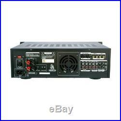 VocoPro DA-3700 BT 200W Digital Key Control Amplifier with Bluetooth Receiver
