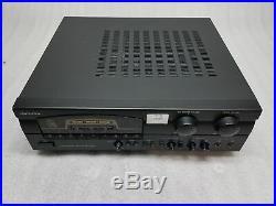 VocoPro DA-3900K Digital Karaoke Amplifier TESTED & WORKING FAIR Condition