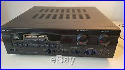 VocoPro DA-3900K Digital Karaoke Mixer Amplifier