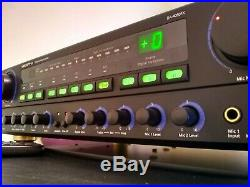 VocoPro DA-4080FX Digital Karaoke Amplifier gently used, tested working