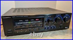 VocoPro DA 8900 PRO Stereo Mixing Amp Very Good Condition