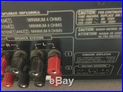 VocoPro DA-8900PRO 600W Professional Digital Key Control Karaoke Mixing Amp