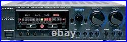 VocoPro DA-9800 RV 600W Professional Digital Key Control Mixing Amplifier wit