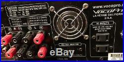 VocoPro DA-X888RV Dual Karaoke Mixing Amplifier UNTESTED