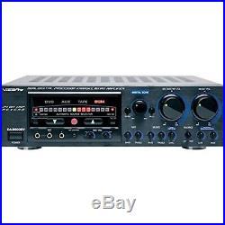 VocoPro DA9800 RV 600W Professional Digital Key Control Mixing Amplifier with