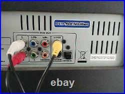 VocoPro DVD-Sound Man VP-488 MultiFormat 4-CH Portable Sound System