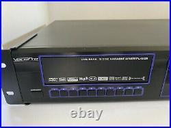 VocoPro DVG-555k Karaoke Mixer Player Dvd Vcd Mpeg4 MP3 Hdcd Cd+G 5-disc 2 Mic