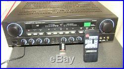 VocoPro Digital Karaoke Amplifier DA-4050FX with remote, Made in California