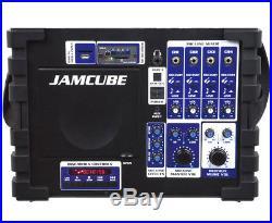 VocoPro JAMCUBE 2 ALL-IN-ONE 100W POWER PORTABLE KARAOKE PA SYSTEM MIXER SPEAKER