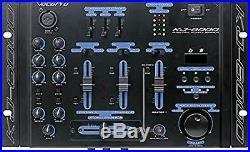 VocoPro KJ-6000 2 Channel, 4 Mic Input Mixer With Digital Key Control