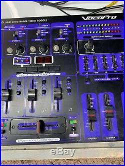 VocoPro KJ-7800 PROFESSIONAL DJ KARAOKE MIXER with KEY CONTROL & 4 MIC CHANNELS