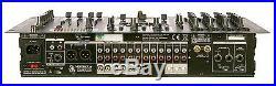 VocoPro KJ-7808 RV PROFESSIONAL DJ KARAOKE MIXER with KEY CONTROL & 4 MIC CHANNELS