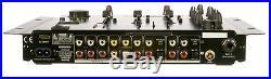 VocoPro KJ6000 2 CHANNEL DJ KARAOKE MIXER with KEY CONTROL & VOCAL ELIMINATOR