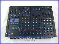 VocoPro KJM-8000 PRO PLUS DJ KARAOKE MIXER with KEY CONTROL & 6 MIC CHANNELS