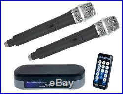 VocoPro TabletOke-2MC Digital Karaoke Mixer With Bluetooth Receiver, Wireless Mi