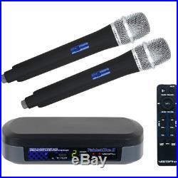VocoPro TabletOke-II Digital Karaoke Mixer with Wireless Mics, Bluetooth 2 Foam
