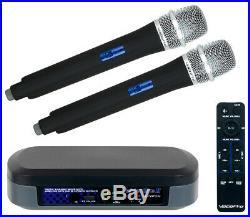 VocoPro TabletOke-II Digital Karaoke Mixer with Wireless Mics & Bluetooth Receiver