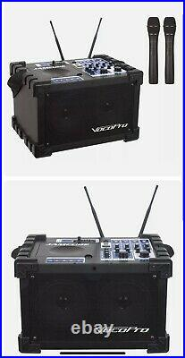 Vocopro 100W Stereo All-In-One Mini PA / Entertainment System