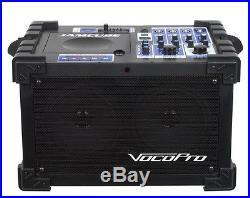 Vocopro 100W Stereo All-In-One Mini PA/Entertainment w SD Recoder Module