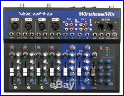 Vocopro 8 Channel All-In-One live sound / Karaoke Mixer