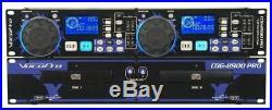 Vocopro CDG-8900 Pro Dual CD/CD G Player Karaoke KJ Beat Matching, Pitch Control
