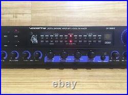 Vocopro DA-2808VE Digital Karaoke Mixer with Vocal Enhancer EXCELLENT