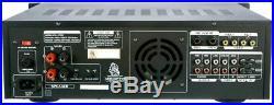 Vocopro DA-3700 BT 200W Digital Key Control Mixing Amplifier with Bluetooth Rece
