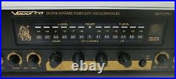 Vocopro DA-X10 PRO Karaoke Mixer with vocal Enhancer Preamplifier pre amp DA X10